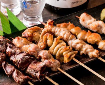 博多華味鶏と宮崎県産霧島鶏などの地鶏を使用しております!
